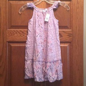 Gap kids flower summer dress.